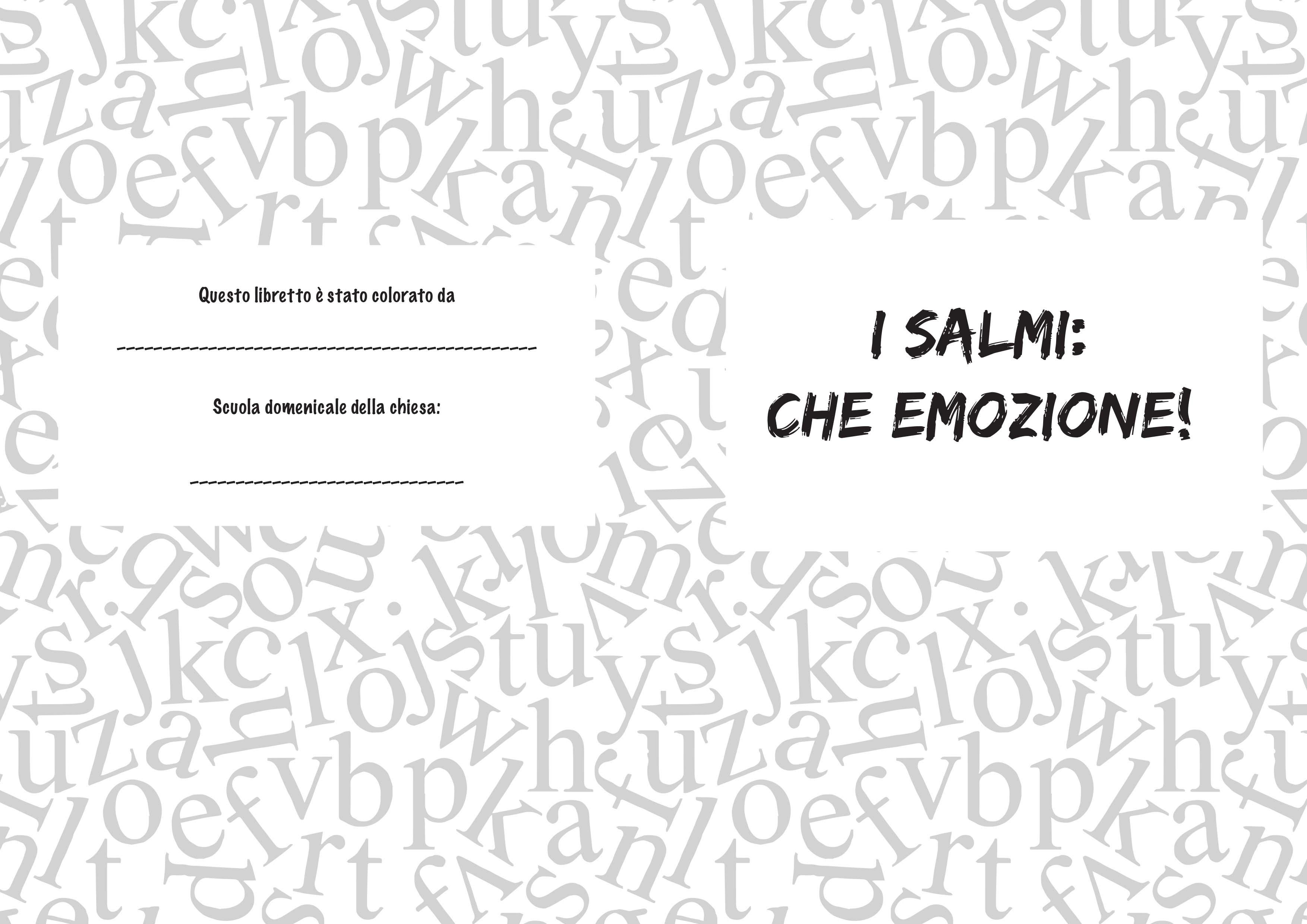 libretto salmi