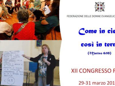 XII Congresso FDEI